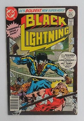 Black Lightning Vol.1 No1 - DC comic - VF condition