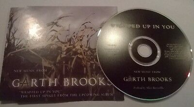 Garth Brooks * Wrapped Up In You * Rare 1 Trk Promo Cd