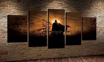 The Batman Oil Painting HD Print Wall Decor Art On Canvas No Frame 5P