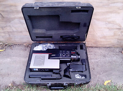 Vintage Rca Cmr200 Vhs Video Camcorder - Parts / Not Working
