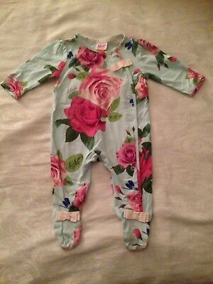 Baby Girls 0-3 Months Ted Baker Baby grow