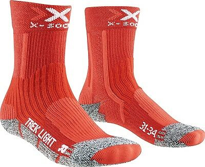 (27W x 30L, Red) - X-Socks Trekking Light Junior 2.0 Tights. Free Shipping