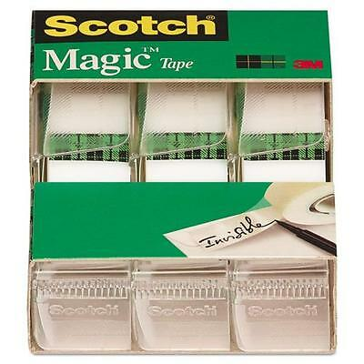 Scotch Magic Tape , 3/4 x 300 Inches (3105), Pack of 9, New, Free Shipping
