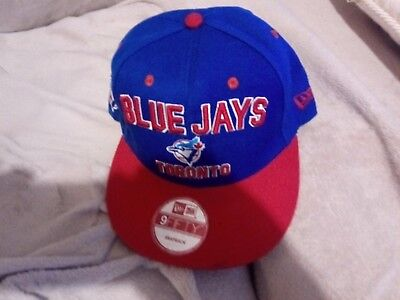 New Toronto Blue Jays 9fifty Snap Back Cap Hat (New Era)