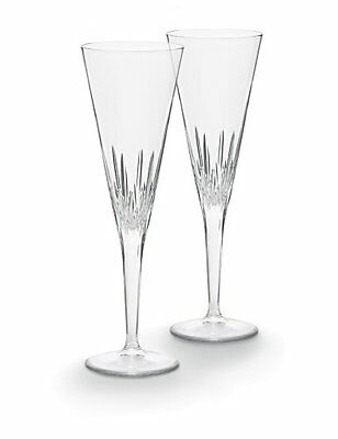 Vera Wang by Wedgwood Duchesse Toasting Flute Pair, New, Free Shipping