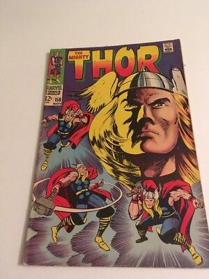 Marvel The Mighty Thor Number 158 - Original 1960's Comic Book