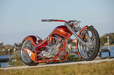 2017 Custom Built Motorcycles Chopper  Extreme Model, Signature Series, Custom Harley, factory title, NADA listed