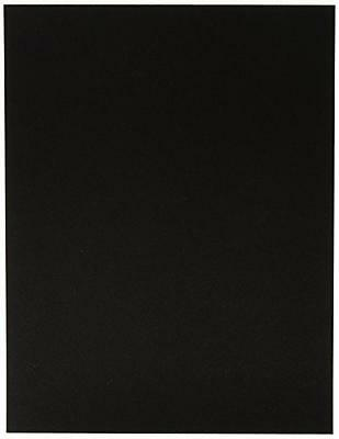 GBC Duro Premium Rigid Binding Covers, Black Plastic, 10 Sets Per Box (2001891),