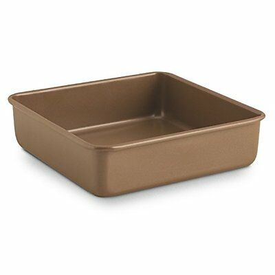 Simply Calphalon 8-Inch Bakeware Square Cake pan, New, Free Shipping