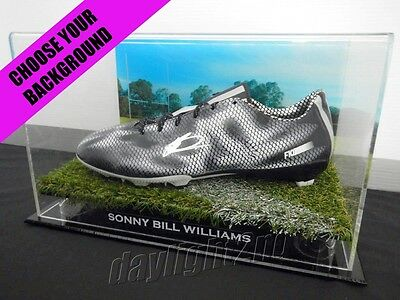 ✺Signed✺ SONNY BILL WILLIAMS Boot PROOF COA All Blacks Roosters Jersey 2017