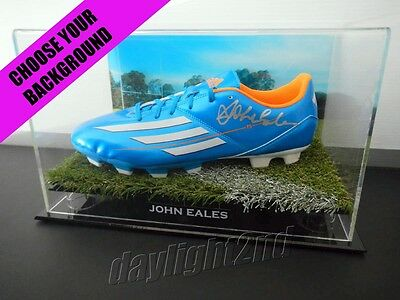 ✺Signed✺ JOHN EALES Football Boot PROOF COA Wallabies Rugby Union 2017 Jersey