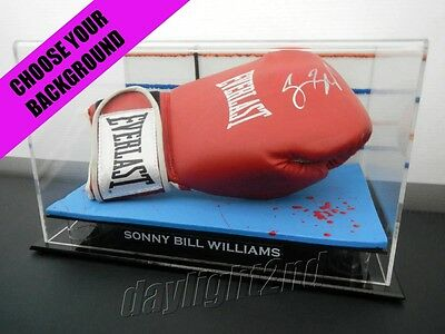 ✺Signed✺ SONNY BILL WILLIAMS Boxing Glove COA All Blacks Jersey 2017 Roosters