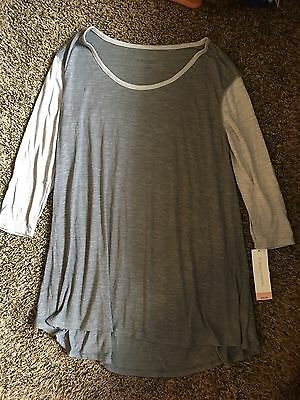 Woman's Grey Liz Lange Maternity S