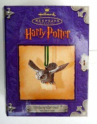 Harry Potter Hedwig Owl Hallmark Ornament, New, Free Shipping