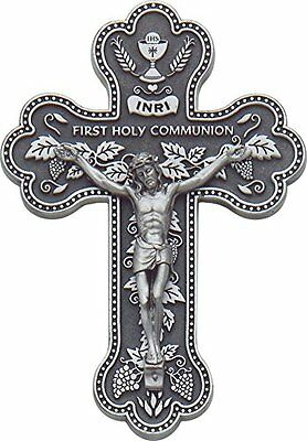 Cathedral Art PMC135 First Holy Communion Crucifix Cross, 5-1/2-Inch, New, Free
