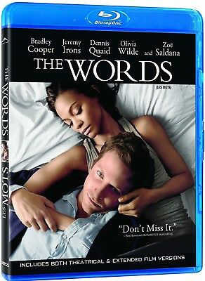 The Words - Extended + Theatrical Versions *New Blu-Ray*