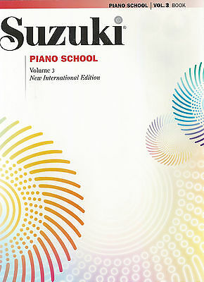 Suzuki Piano School Piano Book Only, Volume 3, New International Edition