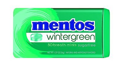 Mentos Sugar-Free Breath Mints Wintergreen 1.27 Ounce (Pack of ... Free Shipping