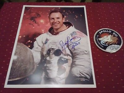 James Lovell Apollo 13 Autograph with patch