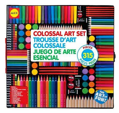 ALEX Toys Artist Studio Colossal Art Set, New, Free Shipping