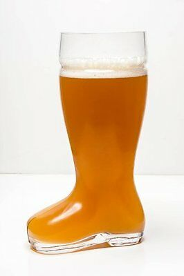 High Quality Oktoberfest Style Glass Beer Boot / Das Boot - Octoberfest Glass Be
