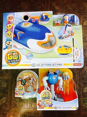 NEW Go Jetters Jet Pad and more