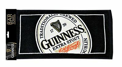 Guinness English Label Bar Towel, New, Free Shipping