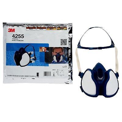 3m 4255 dust mask and gas mask. FFA2P3D respirator. New sealed