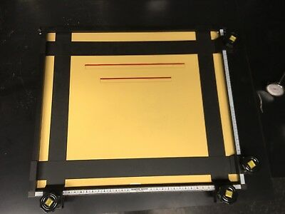 Saunders Adjustable Photographic 4 Bladed Darkroom Enlarging Easel