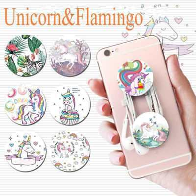 Unicorn Universal Expanding Stand Pop Up Holder Tablets Mount Grip For Phone