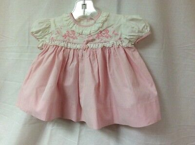 Vintage Baby Dress By Nannette 3-6 Months *Very Sweet