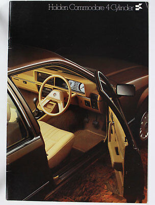 Used Holden Commodore VB SL Sales Brochure Accessories  4 Cylinder