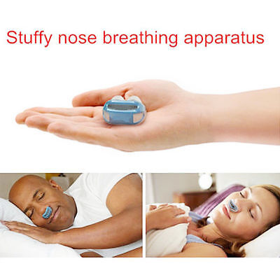 Anti Stop Snoring Snore Free Magnetic Silicone Snore Stopper Sleep Device EB4