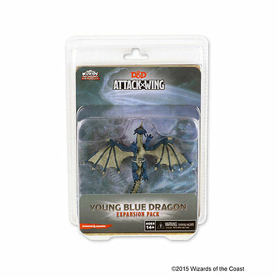 D&D Attack Wing - Young Blue Dragon