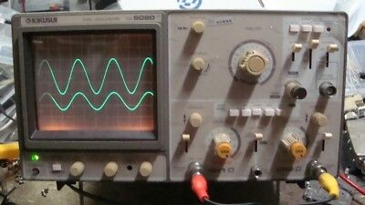 Kikusui cos5020 Oscilloscope, Working