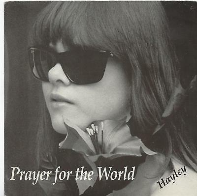 "Hayley Oliver - Prayer For The World - 7"" Single"