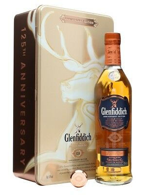 Glenfiddich 125th Anniversary Edition 700mL
