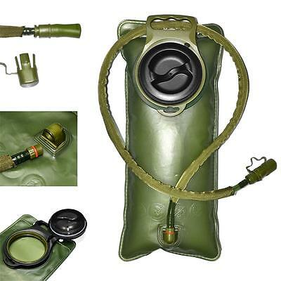 Climbing Pouch Bladder Water Drink Bag Hiking 2.5L Hydration System Cycling UK
