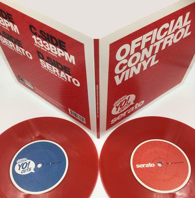 "DJ RITCHIE RUFTONE - Practice Yo! Cuts Meets Serato - Red Vinyl (double 7"")"