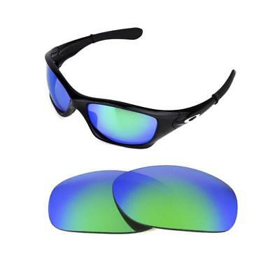 70f736f9cf5 NEW POLARIZED CUSTOM Green Lens For Oakley Pit Bull Sunglasses ...