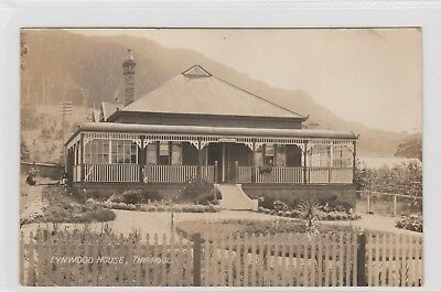VINTAGE POSTCARD   LYNWOOD HOUSE THIRROUL   NSW 1900s RPPC