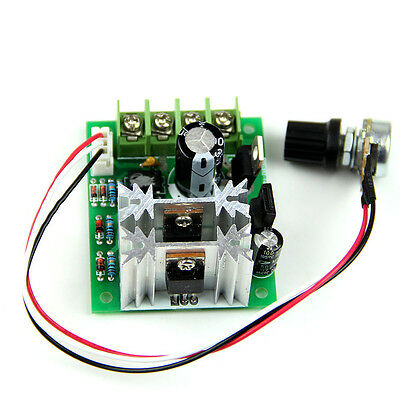 PWM DC 6V/12/24V 10A Pulse Width Modulator Motor Speed Control Switch 1× UK