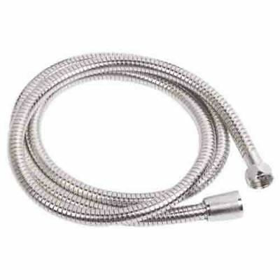 1M TO 2.5M CHROME SHOWER BATH HOSE Flexible Stainless Steel Replacement Pipe