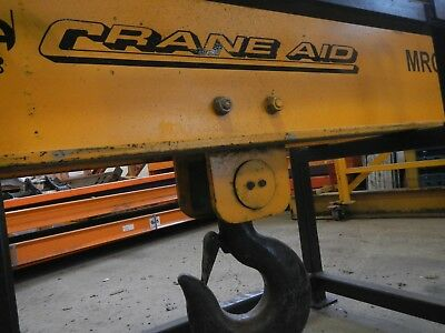 Crane Aid 10 Ton Spreader Bar, Overhead Gantry