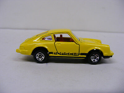 Tomica Tomy 1/61 No F3 Porsche 911 S  Yellow Rare New Model Only Japan