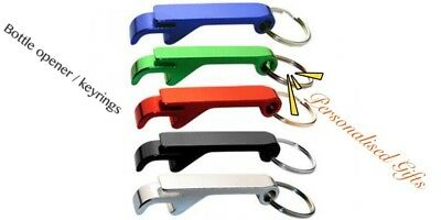 Custom Engraved Bottle Opener Key rings , Business Wedding Gifts