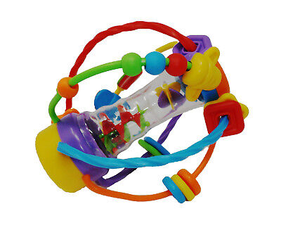 Babies Activity Rainmaker With Squeaker - Suitable From 6 Months