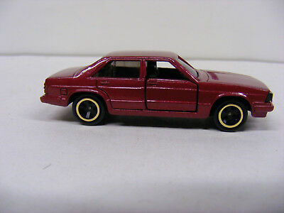 Tomica Tomy 1/65 No F32 Audi 5000 Turbo Maroon Rare New Model Only Japan