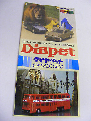 Diapet Catalogue 1983 Vol1 Very Good