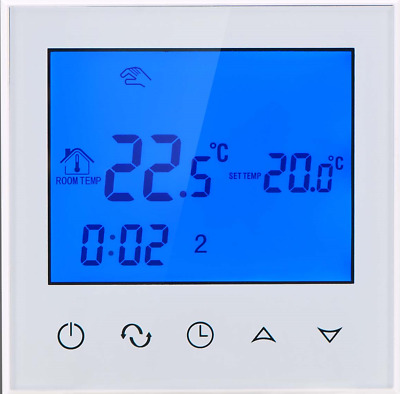 WIFI APP ENABLED WATER UNDERFLOOR HEATING 230v THERMOSTAT - PROGRAMMABLE 7 DAY